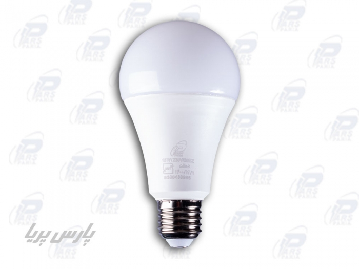 لامپ LED حبابی15Wآفتابی